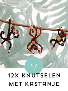 The post Knutselen met kastanjes 13 Simpele én super leuke knutselideeën! appeared first on Knutselen ideeën. Diy Crafts For Adults, Diy Arts And Crafts, Diy For Kids, Halloween Crafts For Kids, Easy Christmas Crafts, Autumn Crafts, Nature Crafts, Toddler Crafts, Preschool Crafts