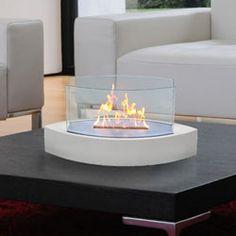 Veniz Bio Ethanol Fuel Fireplace Finish: White - Clear by Bio ...