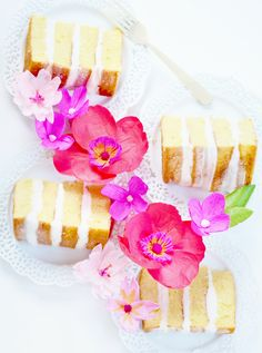 DIY paper flower cak