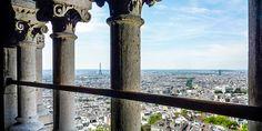 Aussicht auf #Paris von der #Kirche #Sacre #Coeur © Gudrun Krinzinger