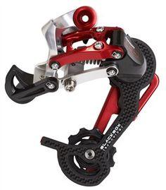 SRAM X0 Rear Derailleur 9sp - Redwin Red