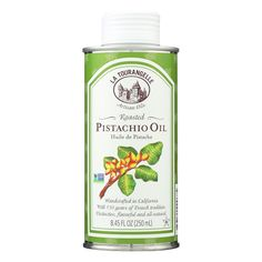 La Tourangelle Roasted Pistachio Oil - Case Of 6 - 8.45 Oz.
