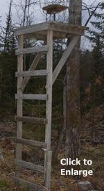 1000 images about hunting on pinterest deer stands for Deer stand made from pallets