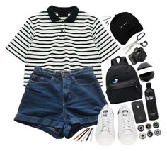 """Untitled #649"" by wendyvc ❤ liked on Polyvore featuring Chicnova Fashion, American Apparel, adidas, Maybelline, Incase and Ella Doran"