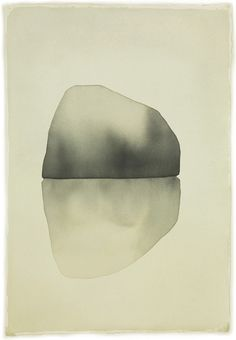 Rock, Mats Gustafson / water color on paper