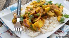 Thai coconut vegetable curry