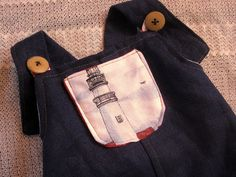 overalls with lighthouse pocket by atticusfinchnz, via Flickr