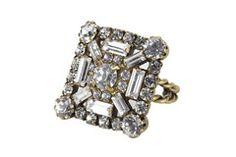Elizabeth Cole Jewelry - Baguette Ring
