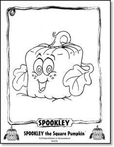 Spookly The Square Pumpkin coloring and activity sheets- for Sydney/Will's class? Fall Preschool, Preschool Learning Activities, Book Activities, Preschool Activities, Preschool Curriculum, Teaching Ideas, Halloween Crafts For Kids, Halloween Activities, Preschool Halloween