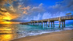 Juno Beach pier - Juno Beach, FL