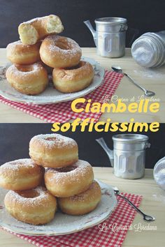 Very soft donuts Drink Party, Torte Cake, Cooking Chef, Bread Baking, Cake Pops, Food Inspiration, Bomboloni, Good Food, Food And Drink