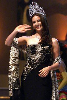 Miss Universe 2001, Denise Quinones, from Puerto Rico.