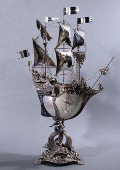 Антикварные кораблики.   Наслаждение творчеством