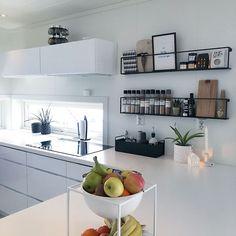 Plank, Shelving, Kitchen Cabinets, Interior Design, Home Decor, Instagram, Style, Living Room Ideas, Shelves