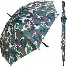 RainStoppers 60 in. Auto Open Camouflage Print Umbrella with Rubber Hand. Our skilled and experienced artisans work hard to bring you a great quality umbrella. Our products are manufactured with top notch fiberglass shaft and ribs for safety and strength. Umbrellas For Sale, Golf Bags For Sale, Golf Stance, Golf Umbrella, Miniature Golf, Umbrella Holder, Survival Supplies, Golf Accessories, Golf Tips