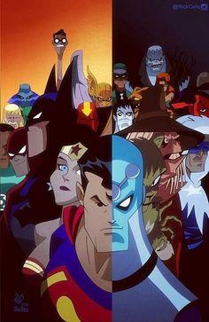 Justice// artwork by Rick Alex Ross. Marvel Dc Comics, Dc Comics Superheroes, Dc Comics Art, Comic Book Characters, Comic Character, Comic Books Art, Comic Art, Book Art, Bruce Timm