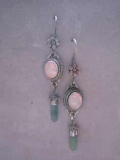 Vintahe Sterling Silver Balinese Earrings With by BALIARTWORKS