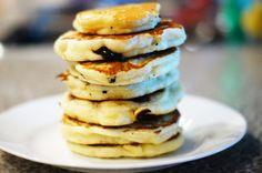 fat, fluffy pancakes