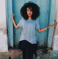 girl, curly hair, and photography image