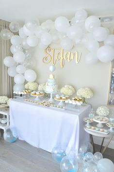 11 Best Christening Table Decorations Images Christening