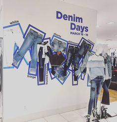 "BLOOMINGDALE'S, Chestnut Hill Mall, Massachusetts, ""The Denim Days"", photo by Sami Ramage, pinned by Ton van der Veer"