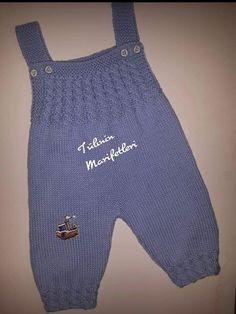 Crochet Baby Blanket Free Pattern, Baby Knitting Patterns, Knitting Designs, Baby Patterns, Knit Baby Dress, Crochet Baby Clothes, Cute Baby Clothes, Baby Dungarees, Romper Pattern