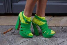 NEON: Tiger By The Tail: A New Life is Born - street style, yellow, green, - Socialbliss
