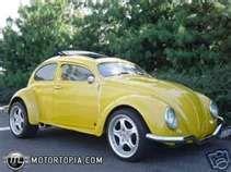"1967 Volkswagon Super Beetle   ""Bumblebee"""