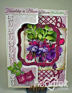 Heartfelt Creations | Swinging Fuchsias