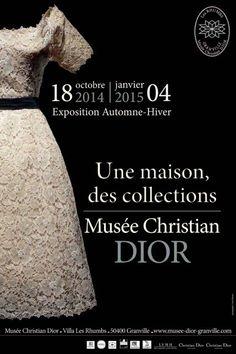 Une maison, des collections, au musée Christian Dior, Villa Les Rhumbs, à Granville, en 2014.