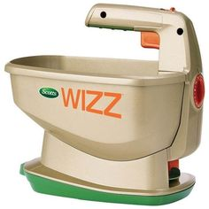 Scotts Wizz Broadcast Hand Spreader at Lowe's. The battery-powered Scotts Wizz Spreader is the quick and easy option when it comes to spreading. The Wizz holds up to sq. of Scotts lawn care Lawn And Garden, Garden Tools, Spring Garden, Garden Supplies, Indoor Garden, Indoor Plants, Scott Lawn Care, Scotts Lawn, Seed Starter Kit