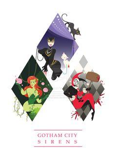 Gotham Beauties More - Visit to grab an amazing super hero shirt now on sale! Catwoman, Batgirl, Harley Quinn Drawing, Joker And Harley Quinn, Gotham Girls, Gotham Batman, Batman Art, Batman Robin, Harey Quinn