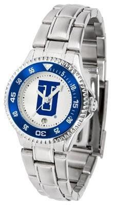 Tulsa Golden Hurricane Ladies Stainless Steel Watch by SunTime. $76.95. Officially Licensed Tulsa Hurricane Ladies Stainless Steel Watch. Links Make Watch Adjustable. Stainless Steel. Women. Rotating Bezel. Tulsa Golden Hurricane Ladies Stainless Steel Watch. This Tulsa metal wrist watch works for dress or casual apparel. Functional rotating bezel is color-coordinated to compliment your favorite Hurricane team logo. The Competitor Steel utilizes an attractive and secure s...