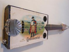 Electric Cigar Box Mandolin  Made in Maine by Jellyhawk on Etsy, BEAUTIFUL AND SOUND FABULOUS. WHAT A COOL GIFT !!!