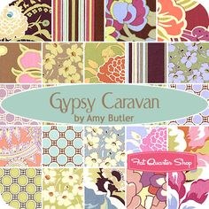 Amy Butler just re-released her Gypsy Caravan Stash fabric!