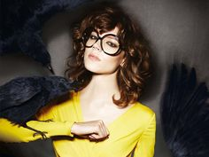 hair color. Tom Ford Eyewear Fall 2010 Campaign | Freja Beha Erichsen by Tom Ford