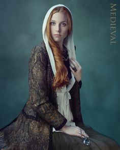Portrait Of a Lady by Joanna Kustra, via Behance