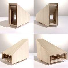 Maquette Jean Christophe Quinton Plus Maquette Architecture, Architecture Model Making, Concept Architecture, Interior Architecture, Interior Design, Roman Architecture, Casa Patio, 3d Modelle, Arch Model