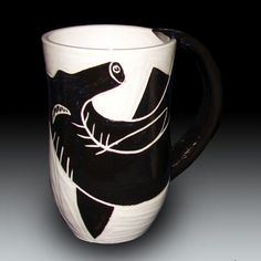 Hammerhead Shark Mug by rhoneypots on Etsy