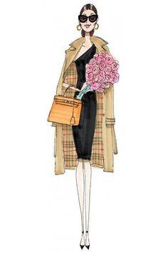 STYLEeGRACE ❤'s this fashion illustration!