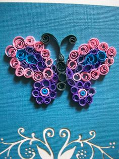 Quilled butterfly by Mar Mice 4/15