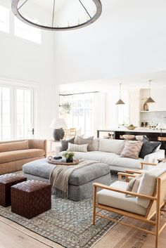 Home Interior Living Room .Home Interior Living Room Formal Living Rooms, Home Living Room, Living Room Designs, Living Room Decor, Small Living Room Sectional, Modern Living, Living Room And Kitchen Together, Transitional Living Rooms, Spacious Living Room