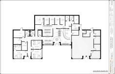 132 best chiropractic floor plans images chiropractic - Semi open floor plan ...