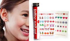 2013 Product Of The Year: Temporary Tattoos, Piercings, and Nail Designs for Kids