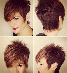 Image result for Short Messy Spiky Hairstyles for Women