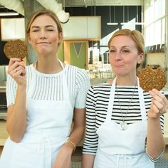 My kookie partner in crime @ChristinaTosi baking up some Rice & Spice at @MilkBarStore. This special kookie benefits @Cookies4Kids. Sending ❤️❤️ to the Gala tonight!