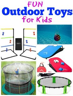 Outdoor Toys For Kids, Outdoor Fun, Infant Activities, Outdoor Activities, Preschool Crafts, Kids Crafts, Cool Kids, Kids Fun, Kids Corner