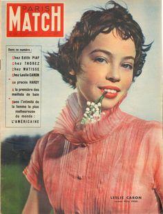 PARIS MATCH N°59 1950 leslie caron edith piaf matisse maurice thorez | eBay