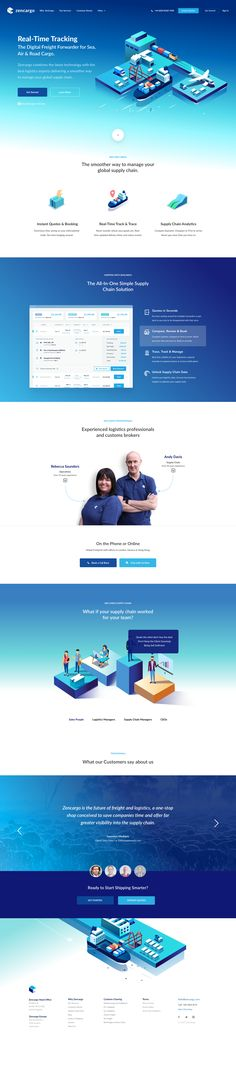 Click to see a bigger version!   Zencargo Marketing Page   Inspire Design   #ui #ux #userexperience #website #webdesign #design #minimal #minimalism #art