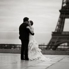 I would love to get married in Paris!